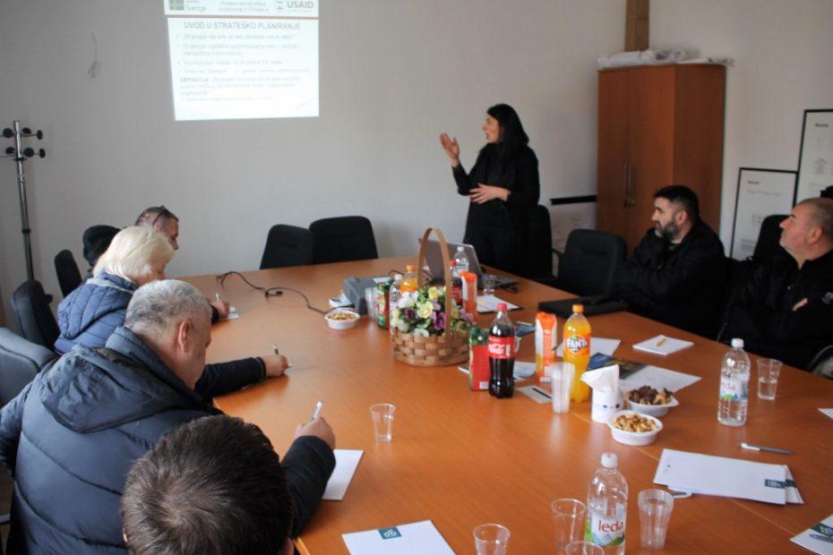 Radionica strateškog planiranja i izrada strategija za zadruge