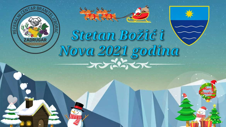Čestitka Referalnog centar za Božićne blagdane i Novu 2021 godinu