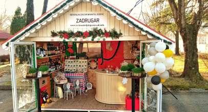 Braniteljski proizvodi u Božićnom gradu na Buni